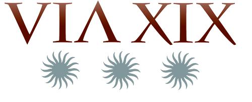 Logo alojamiento hotelero VIA XIX