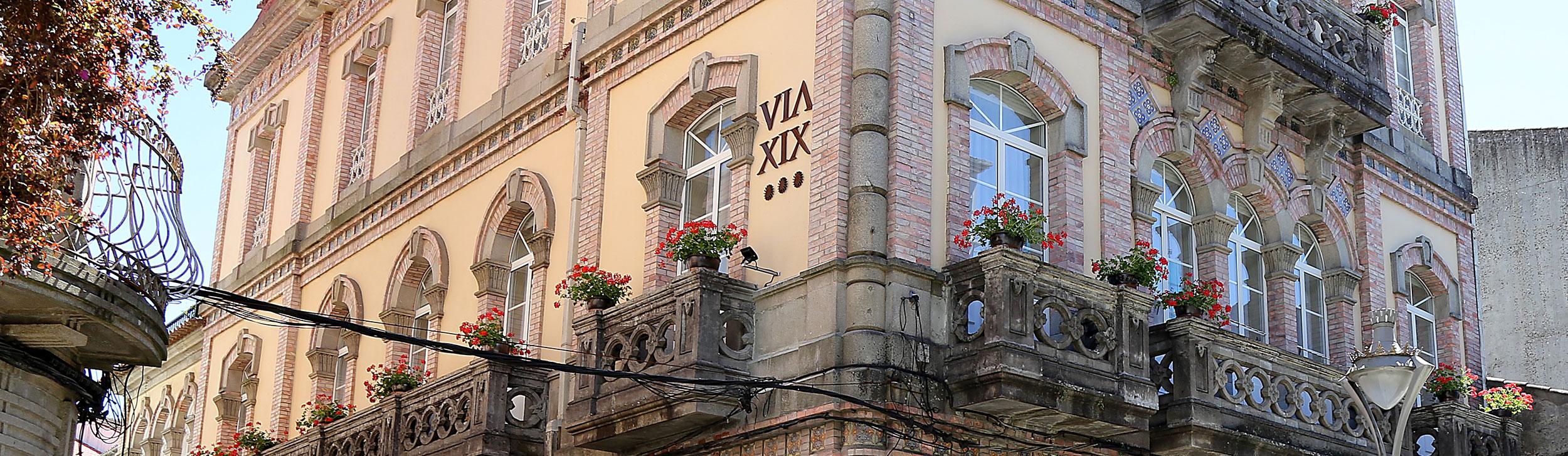 Fachada Alojamiento Hotelero Via XIX